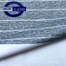 T-shirt de sport à imprimé sublimation en tricot de polyester et coton interlock