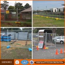 Panneau de clôture temporaire pour événement spécial de haute qualité