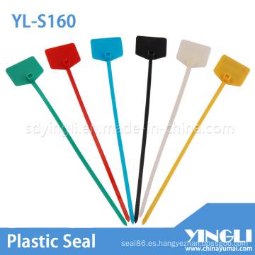 Sello de plástico hermético de color para marcar