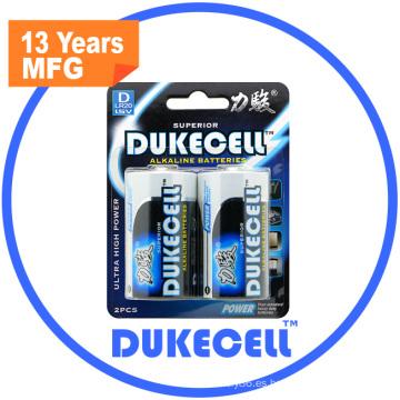 Super pila seca conveniente para la batería alcalina de productos electrónicos