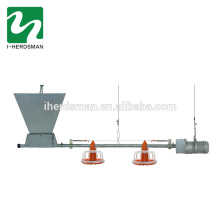 Wholesale poultry automatic chicken pan feeding system for broiler and breeder chicken