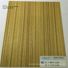 Folheado de madeira decorativo de 0.5mm 1mm