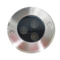 Ip67 à prova d'água Rgb Rgbw 3W Led Inground Uplight