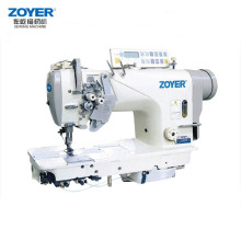 ZY8452-D3 Zoyer High Speed Double Needle Lockstitch Industrial Sewing Machine