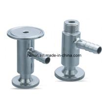 Válvula de muestra sanitaria de acero inoxidable