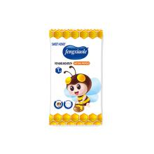 Emballage simple de lingettes humides naturelles pour bébé