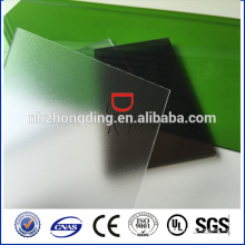 Чжэцзян замороженный лист поликарбоната лист/матовый поликарбонат