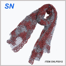 2014 New Style Popular Lace Scarf (SNLPS012)