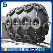 defensa marina antienvejecedor / tipo neumático Yokohama tipo proveedor de defensa de barco de goma en China
