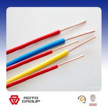 Cable aislado de PVC Cable eléctrico de cobre sólido del conductor BV