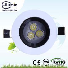wasserdichte LED-Badezimmer Deckenleuchte 3w dimmbar