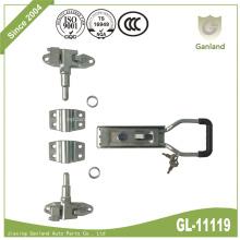 Contenedor de almacenamiento de bloqueo de engranajes con llave