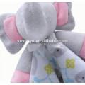 2018 popular personalizado Carter's Elephant Cuddle Baby Snuggle Blanky Blanket linda toalla de bebé, suave y cómodo,