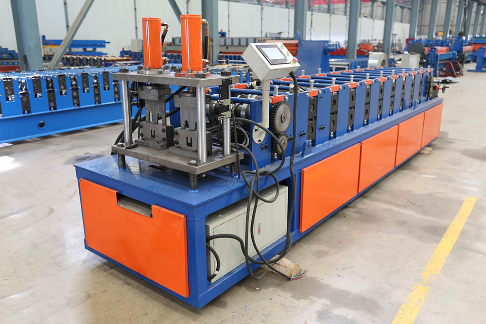 เพดาน Double Line Furring Channel Roll Forming Machine