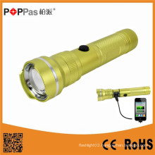 CREE Xm-L T6 USB Power Bank Rechargeable LED Flashlight