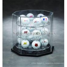 Встречной Верхней Части Торгового Центра На Заказ 3-Слой Акрила По Хоккею С Мячом И Игре В Бейсбол Мяч Витрине
