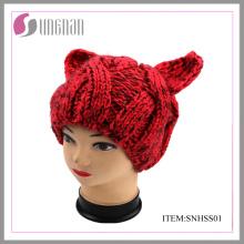2015 Últimas New Beanie Hat para as Mulheres
