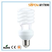 Meia espiral 20W 21W 23W Lâmpada de poupança de energia CFL Light
