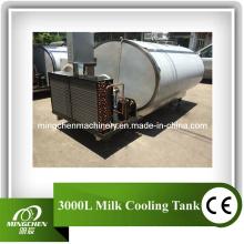 Réservoir de refroidissement de lait frais de refroidissement frais d'expansion directe