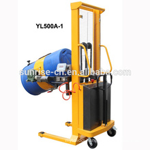 Semi electric battery opperate Drum rotate stacker with CE