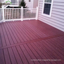 Outdoor solid wood ipe decking