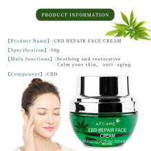 Private Label Hemp Extract Pure Essential Oil Cbd Hemp Cream Gel for Muscle Pain Relief