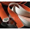 Silicone fiber glass hose fire sleeves