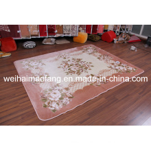 Raschel Mink Polyester Prayer Shaggy Carpet