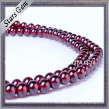 Boa Qualidade Vinho Cor Natural Garnet Bracelet