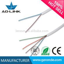 Precio de fábrica no blindado línea telefónica interior cable de cobre de la telecomunicación