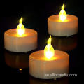 Gul Light Flickering Led Tealight Candle
