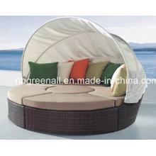 2016 Luxury Sun Bed for Rattan/Patio Furniture (GN-3652L)