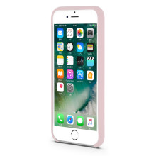 Clean apple liquid silicone  back cover for iphone6