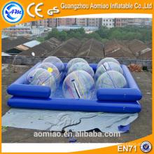 2016 Flotador inflable de la piscina del buñuelo del nuevo diseño, flotador inflable de la piscina