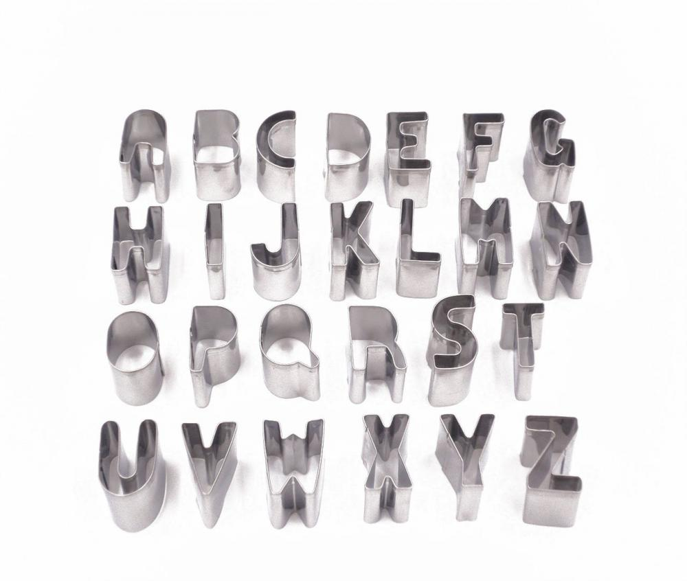 Alphabet Cookie Cutter