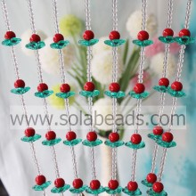Acrylic Flower Beaded Wall Hanging Bead Curtain