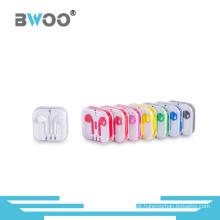 Fone de ouvido de telefone celular de ouvido colorido Setereo