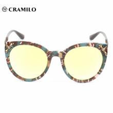 Новая мода кошачий глаз солнцезащитные очки 2018 женщин