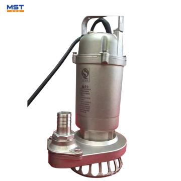 bomba de residuos de tratamiento de agua sumergible con agitador