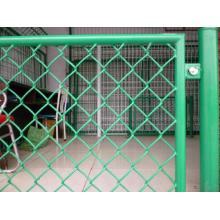 PVC beschichtet geschweißte Draht Mesh Chain Link Zaun Panel
