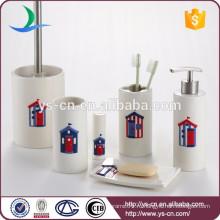Essentials Decor Collection 6-Piece керамической ванной Установить оптом