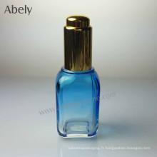 Bouteille de parfum unisexe de forme carrée de 35 ml