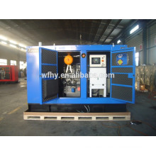 10kva tipo silencioso 220 voltios diesel generador portátil