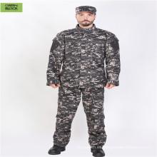 Uniforme de ejército de combate de camuflaje Uniforme militar