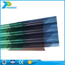 Chine plaques de plastique en fibre de verre en tôle ondulée pour toiture