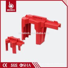 Einstellbare Verriegelung Ventilschalter Ventil Sicherheitsschlösser, Kugelhahnschloss, geeignet für 13mm bis 64mm, hohe Qualität mit CE