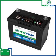 Batterie de voiture de grande capacité NS60 R / L SMF