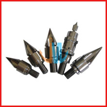 Injection screw and barrel parts for injection moulding machine