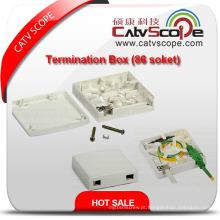 Caixa terminal de alta qualidade de W-2c FTTX / caixa de distribuição de fibra óptica