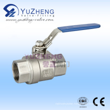 Stainless Steel NPT Threaded 2PC Ball Valve